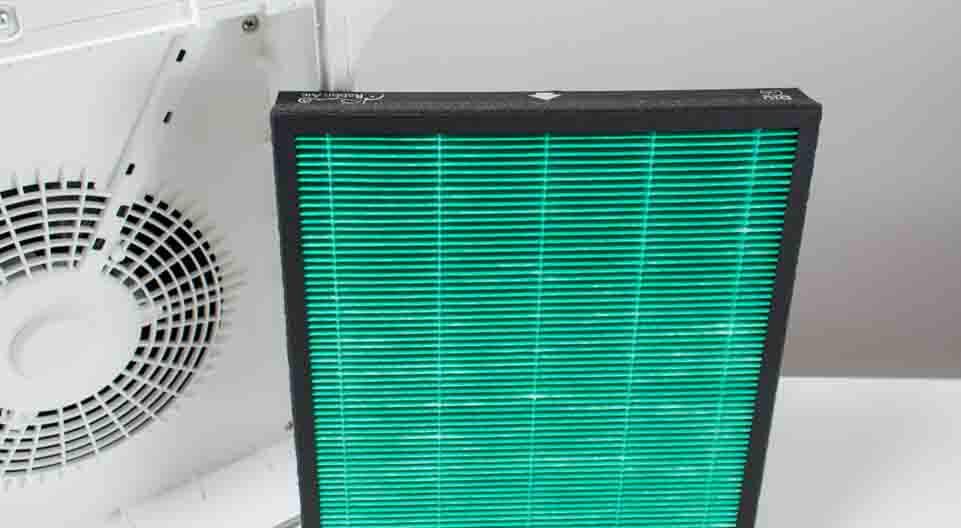 hepa filter outside