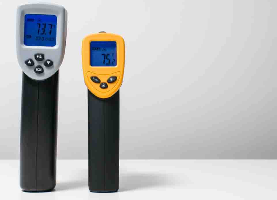 etekcity ir thermometer displays