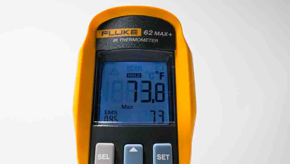 fluke 62 display